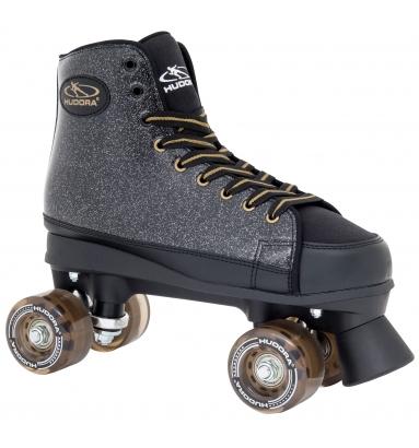 Купить Ролики-квады Hudora Roller Skates Black Glamour, 39