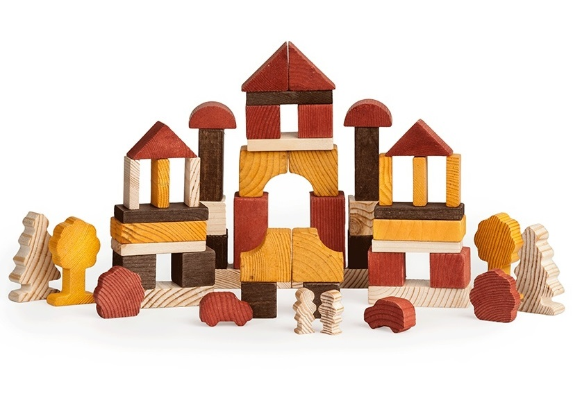 Конструктор - День из серии Краски дня, 55 деталей от Toyway