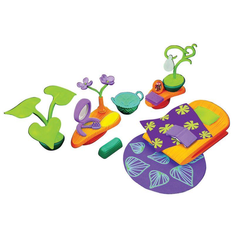 Набор аксессуаров для спальной комнаты с фиолетовым ковром