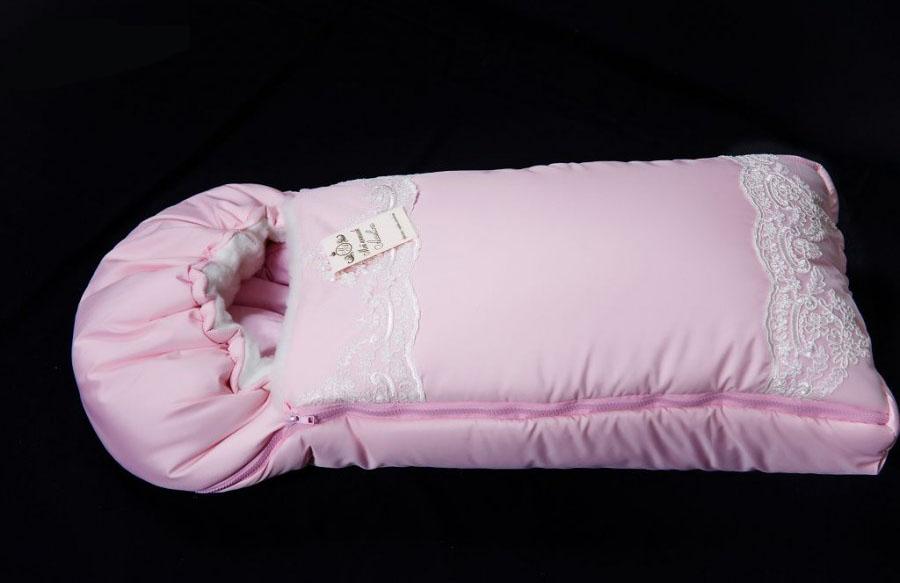 Конверт-одеяло на выписку М-2053, розовыйЗимние конверты<br>Конверт-одеяло на выписку М-2053, розовый<br>