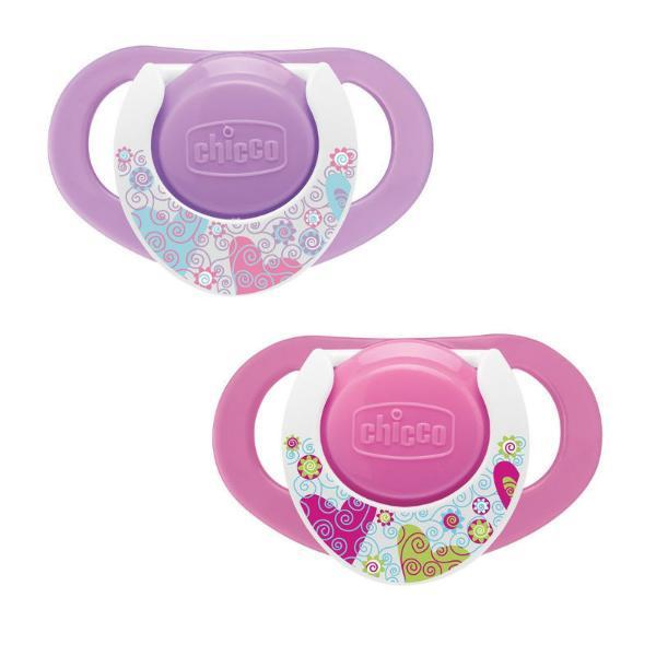 Пустышка силиконовая 12+, 2 шт, розоваяТовары для кормления<br>Пустышка силиконовая 12+, 2 шт, розовая<br>