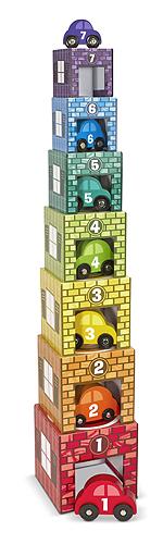 Деревянные гаражи сортировщикиСортеры, пирамидки<br>Деревянные гаражи сортировщики<br>