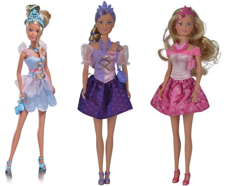 Кукла Штеффи Стильная принцесса, 29 см, 3 видаКуклы Steffi (Штеффи)<br>Кукла Штеффи Стильная принцесса, 29 см, 3 вида<br>
