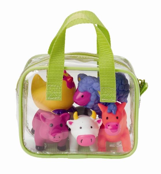 Купить Игрушка для ванны ферма, 4 животных, Alex