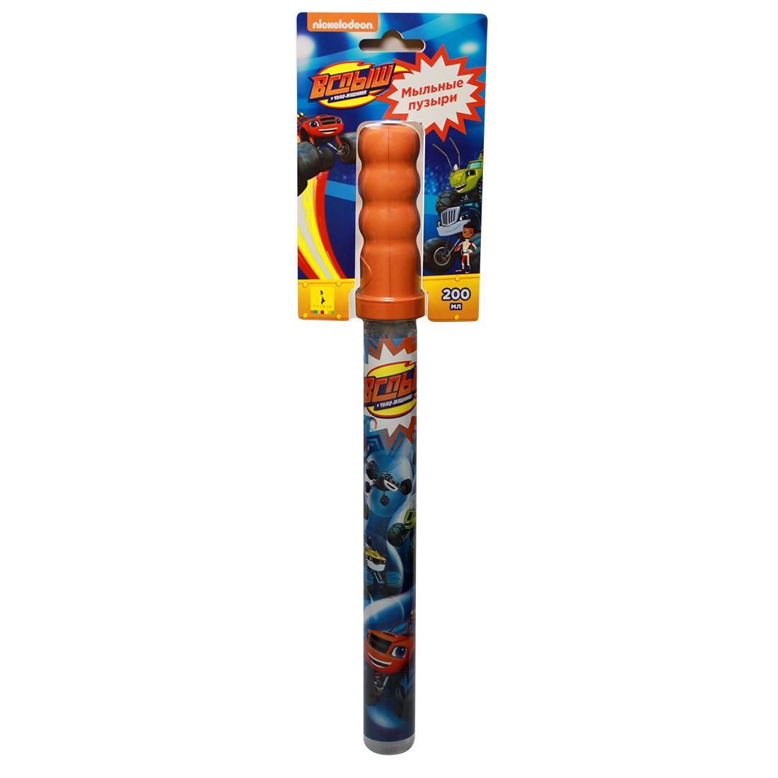 Купить Мыльные пузыри Вспыш™ - Волшебная палочка, 200 мл, Росмэн