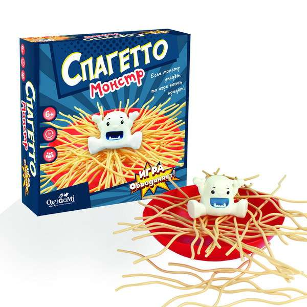 Игра настольная - Спагетто монстр 32 предмета.