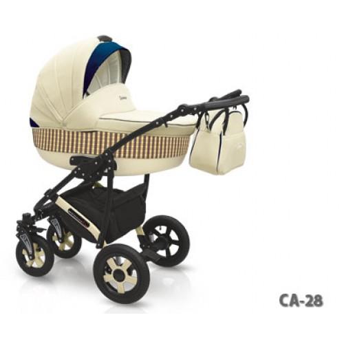 Детская коляска Camarelo Carera 2 в 1, цвет CA_28Детские коляски 2 в 1<br>Детская коляска Camarelo Carera 2 в 1, цвет CA_28<br>