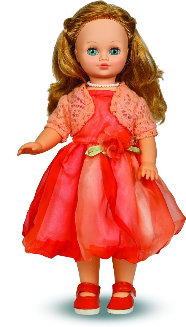 Кукла Лиза 19 со звуковым устройством, 42 смРусские куклы фабрики Весна<br>Кукла Лиза 19 со звуковым устройством, 42 см<br>