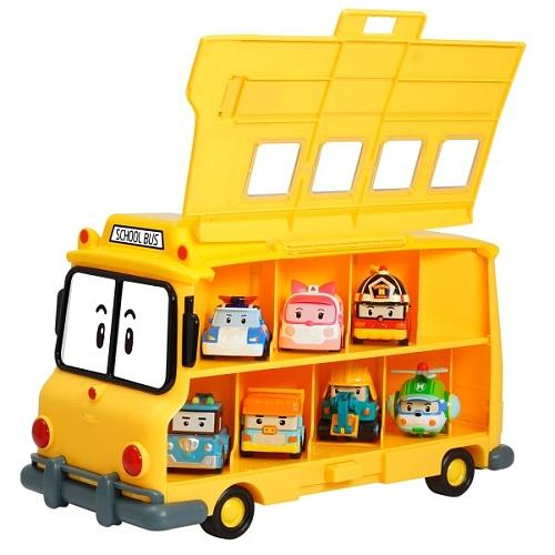 Кейс для хранения машинок Скулби, вместимость 14 машинокRobocar Poli. Робокар Поли и его друзья<br>Кейс для хранения машинок Скулби, вместимость 14 машинок<br>