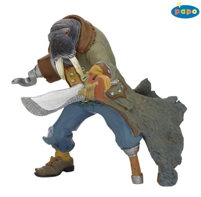 Фигурка Пират-морж
