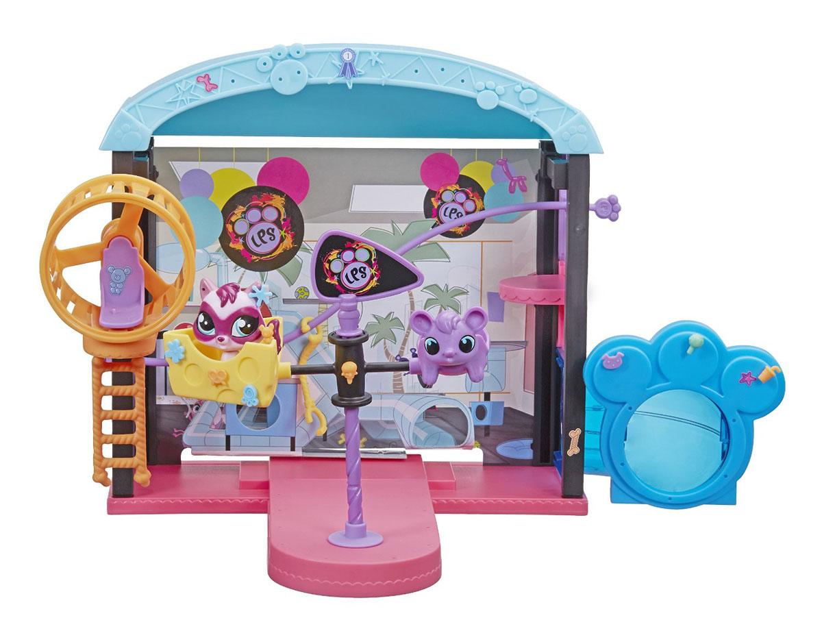 Игровой набор серии Pet Shop  Веселый парк развлечений - Littlest Pet Shop – Маленький зоомагазин, артикул: 115594