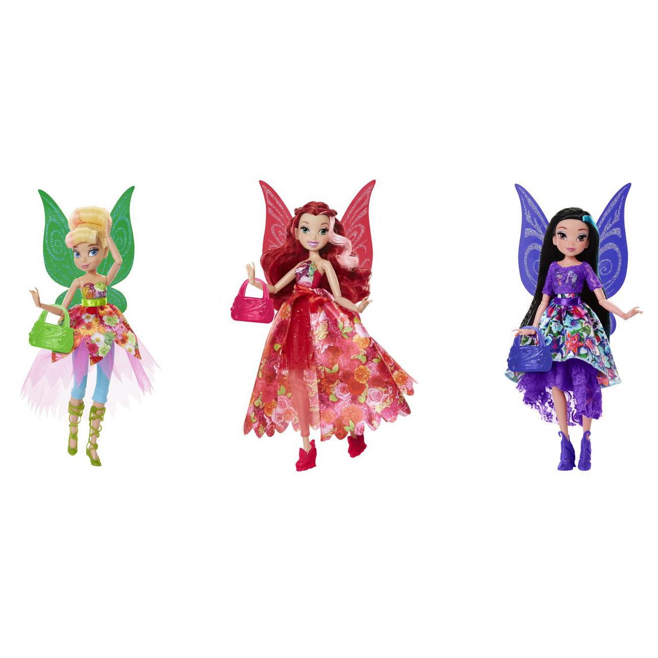 Куклы Дисней - Фея Делюкс с сумочкой, 23 см.Феи<br>Куклы Дисней - Фея Делюкс с сумочкой, 23 см.<br>