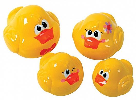 Набор детский для игр в ванной - УтятаИгрушки для ванной<br>Набор детский для игр в ванной - Утята<br>