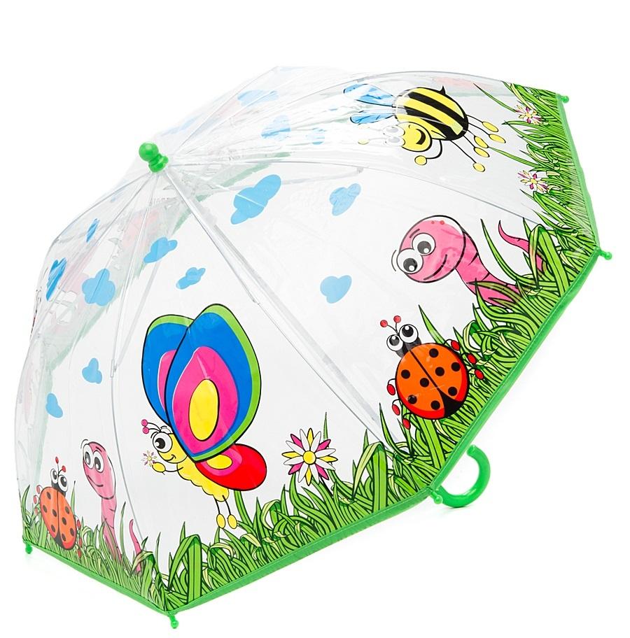 Зонт детский – Насекомые, 46 см.Детские зонты<br>Зонт детский – Насекомые, 46 см.<br>