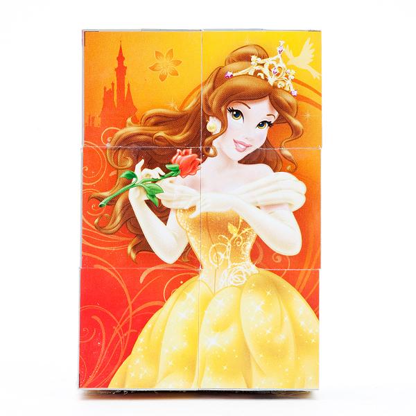 6 развивающих кубиков - Принцессы ДиснейКубики<br>6 развивающих кубиков - Принцессы Дисней<br>