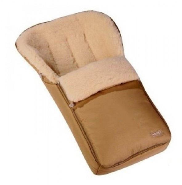 Спальный мешок в коляску №06 - Aurora, коричневый