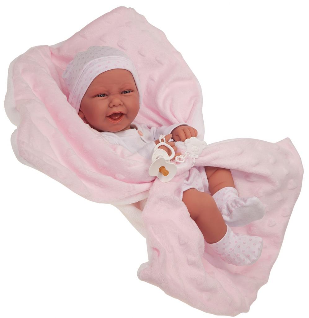Купить Кукла-младенец - Ирен в розовом, 42 см, Antonio Juan Munecas