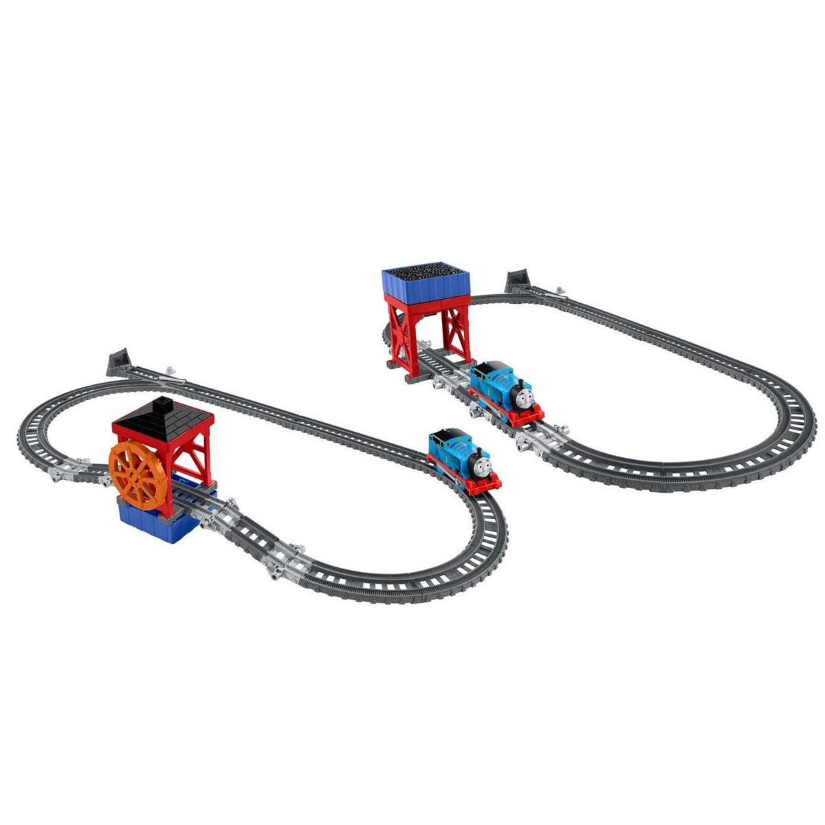 Томас и его друзь. Набор 2-в-1 - Угольный бункер/Водное колесоДетска железна дорога<br>Томас и его друзь. Набор 2-в-1 - Угольный бункер/Водное колесо<br>