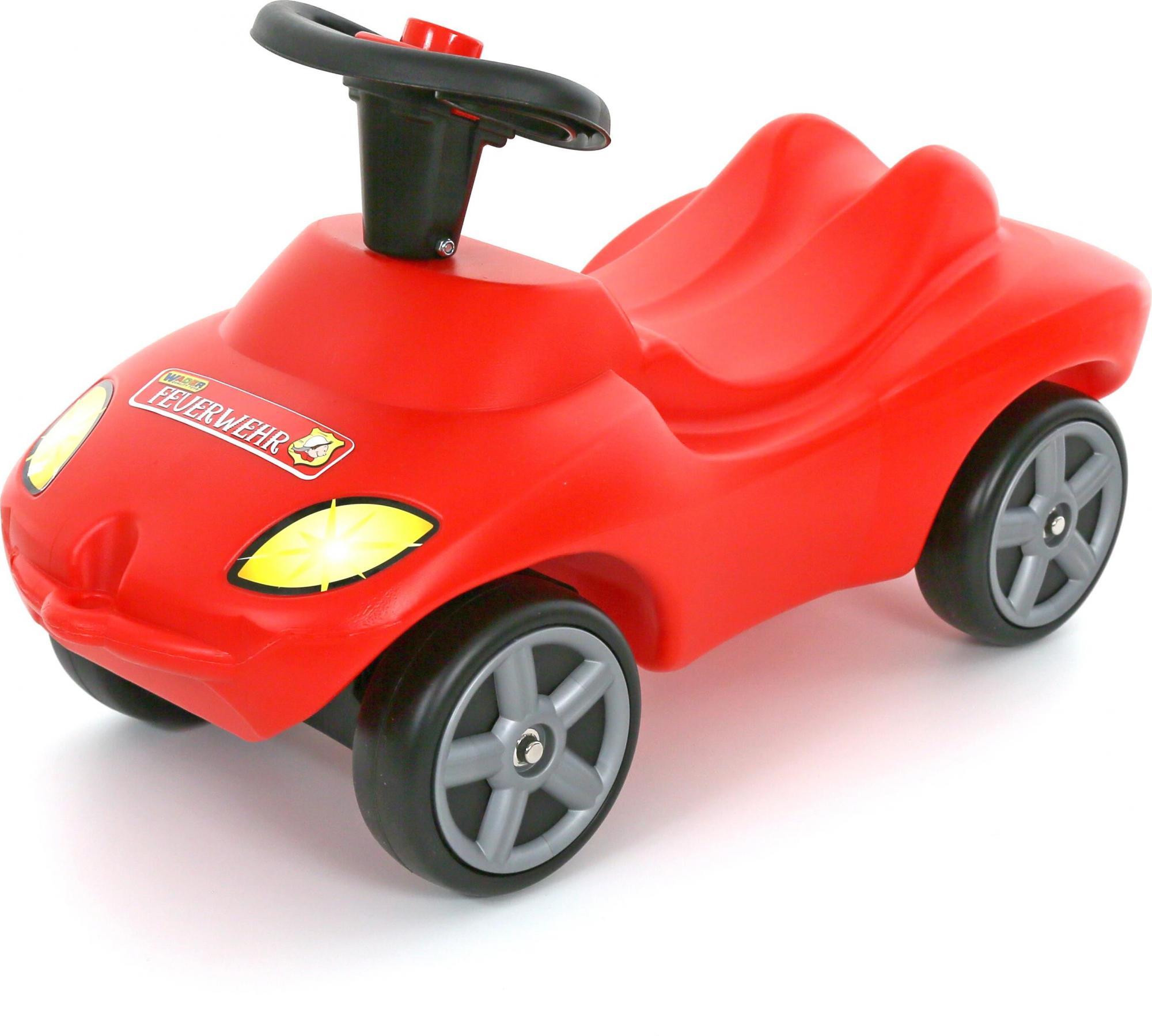 Каталка-автомобиль - Пожарная команда, со звуковым сигналомМашинки-каталки для детей<br>Каталка-автомобиль - Пожарная команда, со звуковым сигналом<br>