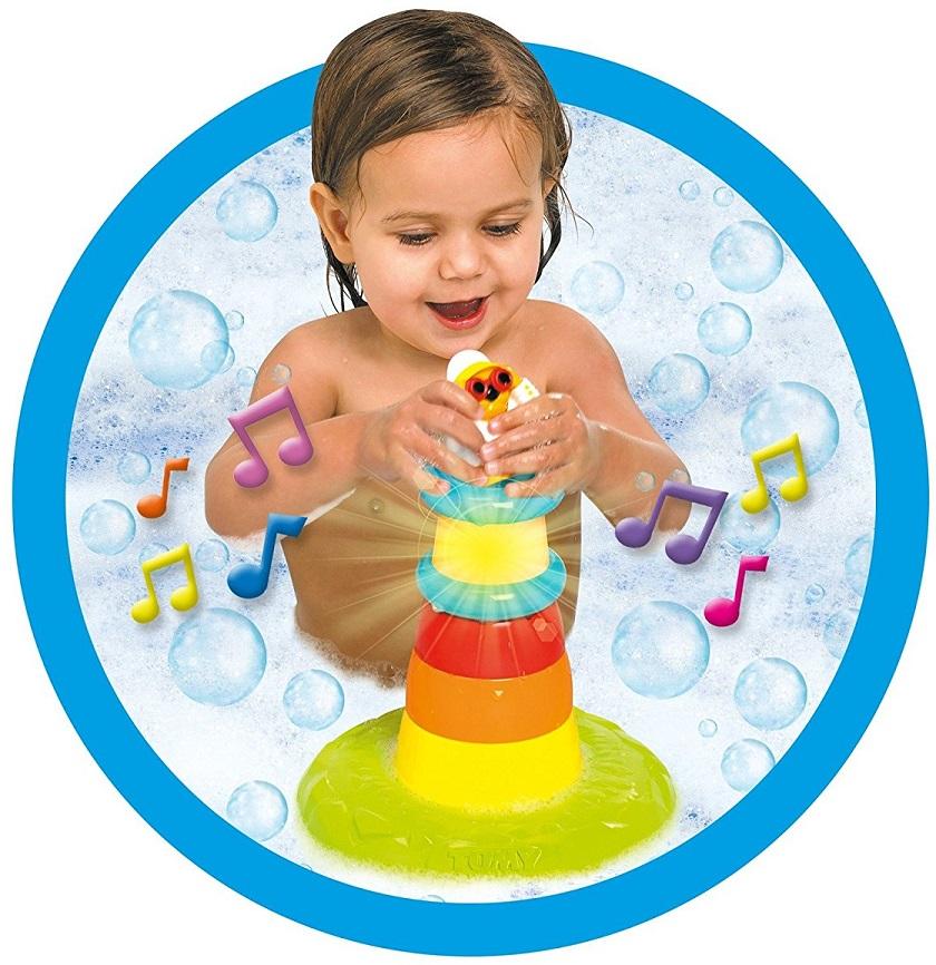 Пирамидка для ванной - МаякРазвивающие игрушки<br>Пирамидка для ванной - Маяк<br>