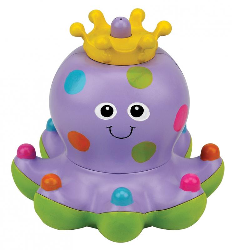 Игрушка для купания осьминожка КлёпаИгрушки для ванной<br>Игрушка для купания осьминожка Клёпа<br>