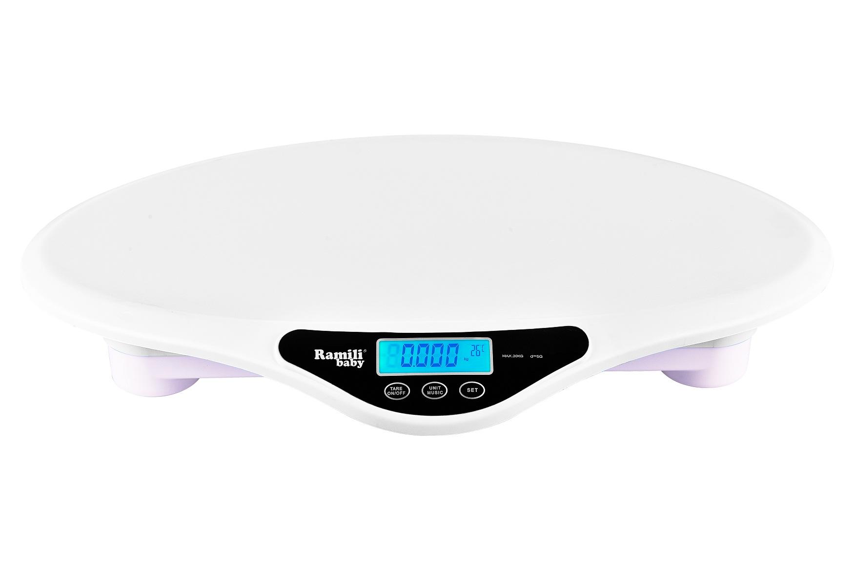Детские электронные весы Ramili Baby RBS9000  - купить со скидкой