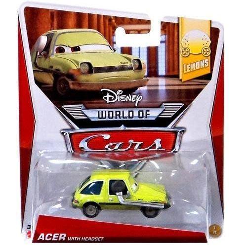 Cars 2. Коллекционная машинка Эйсер с гарнитуройCARS 2 (Игрушки Тачки 2)<br>Cars 2. Коллекционная машинка Эйсер с гарнитурой<br>
