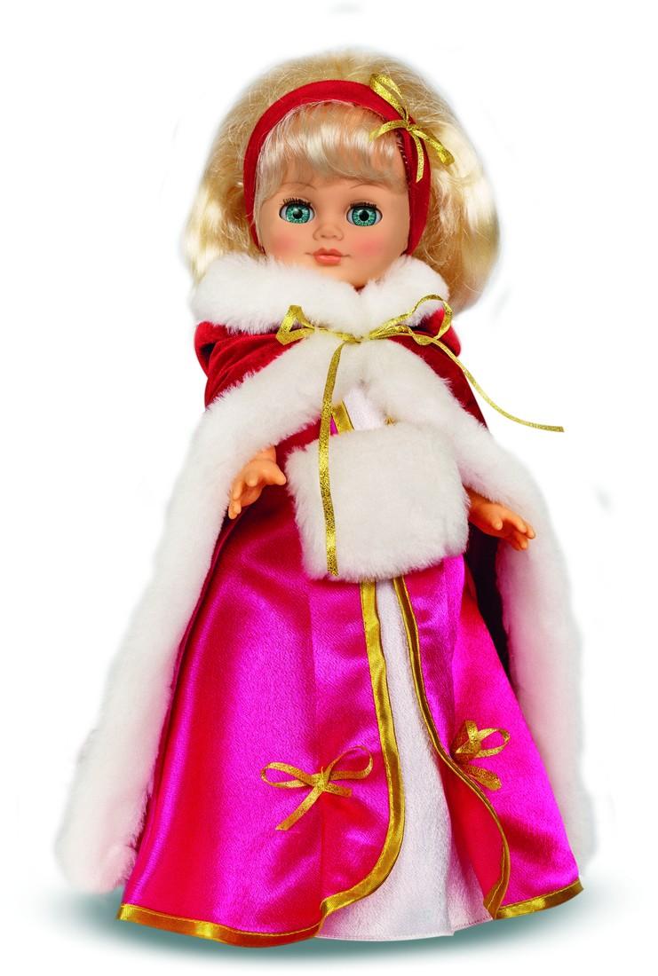 Кукла Герда 3 со звуковым устройством, 38 смРусские куклы фабрики Весна<br>Кукла Герда 3 со звуковым устройством, 38 см<br>