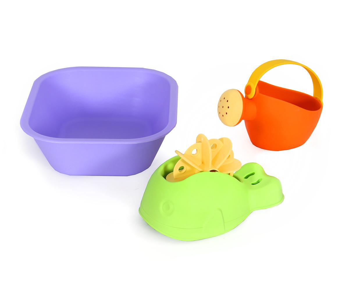 Купить Игрушки для ванны: ванночка, лейка малая, кит, Биплант
