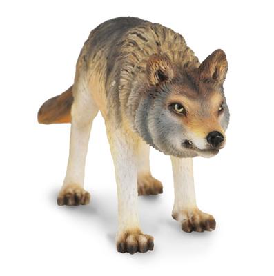 Фигурка Волка охотящегосяЛесная жизнь (Woodland)<br>Фигурка Волка охотящегося<br>