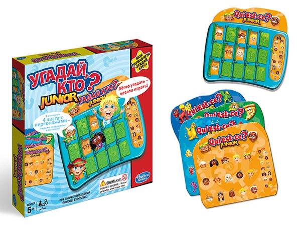 Купить Логическая игра - Угадай, кто? Моя первая игра, Hasbro
