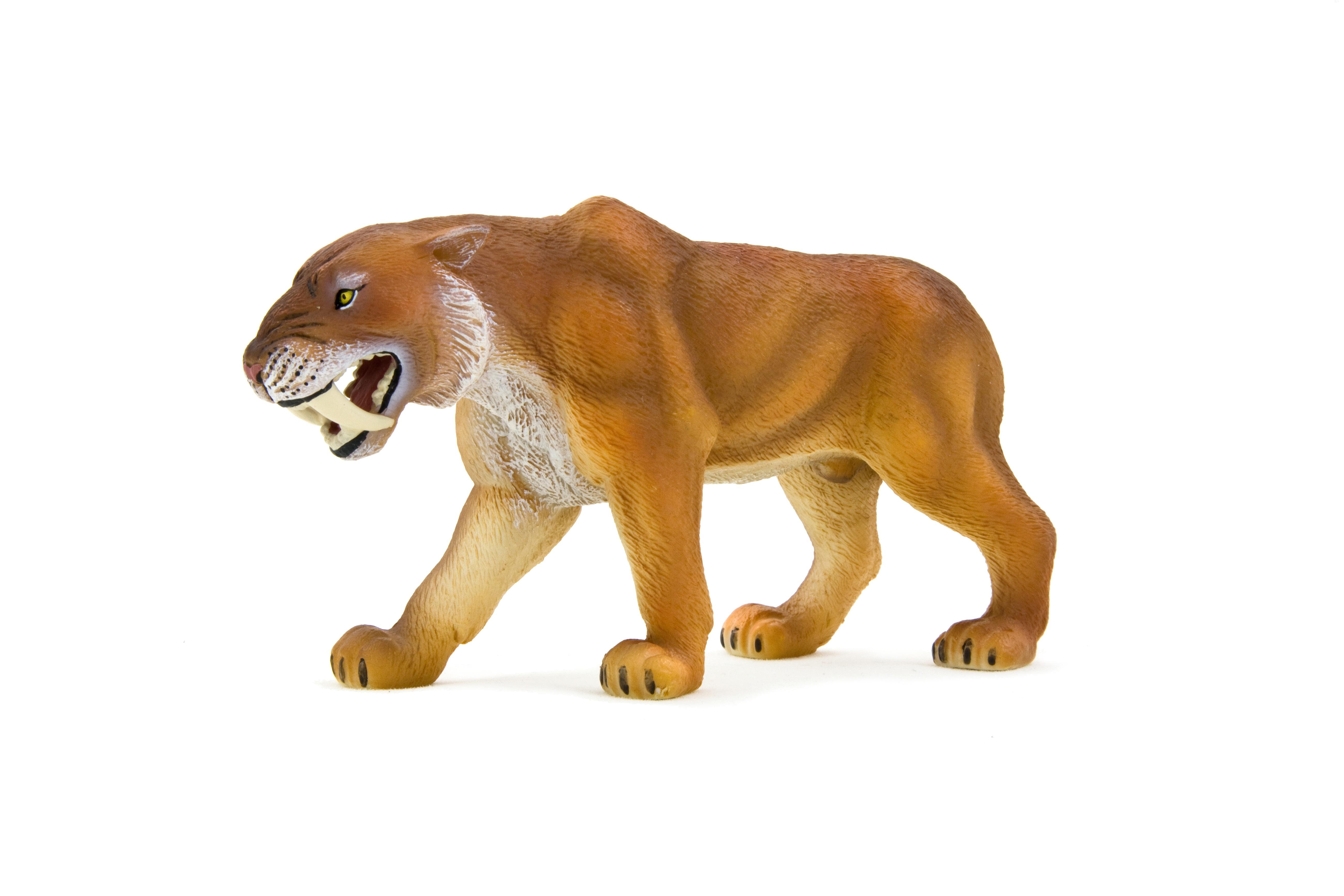 Саблезубая кошка, 12 смДикая природа (Wildlife)<br>Саблезубая кошка, 12 см<br>