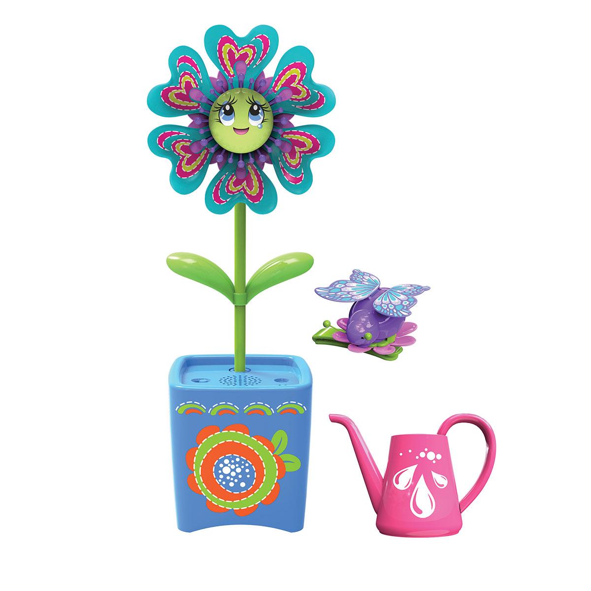 Интерактивная игрушка - Волшебный цветок с заколкой для волос и волшебным жучком