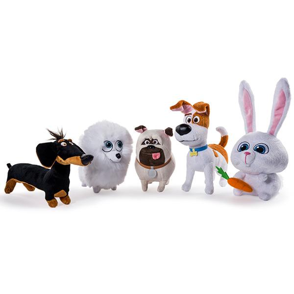 Мягкая игрушка Secret Life of Pets  Тайная жизнь домашних животных, 15 см. - Собаки, артикул: 141458