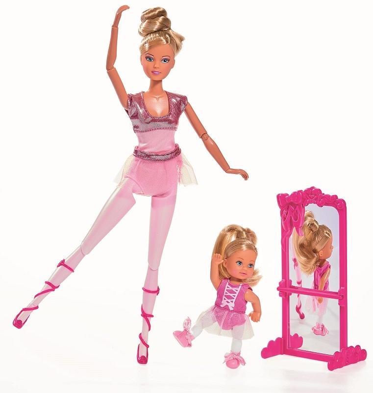 Купить Кукла Штеффи и кукла Еви из серии Школа балета, Simba