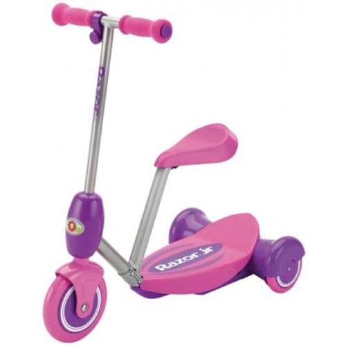 Электросамокат с сиденьем Razor Lil E, розовый, 011202ЭлектроСамокаты<br>Электросамокат с сиденьем Razor Lil E, розовый, 011202<br>