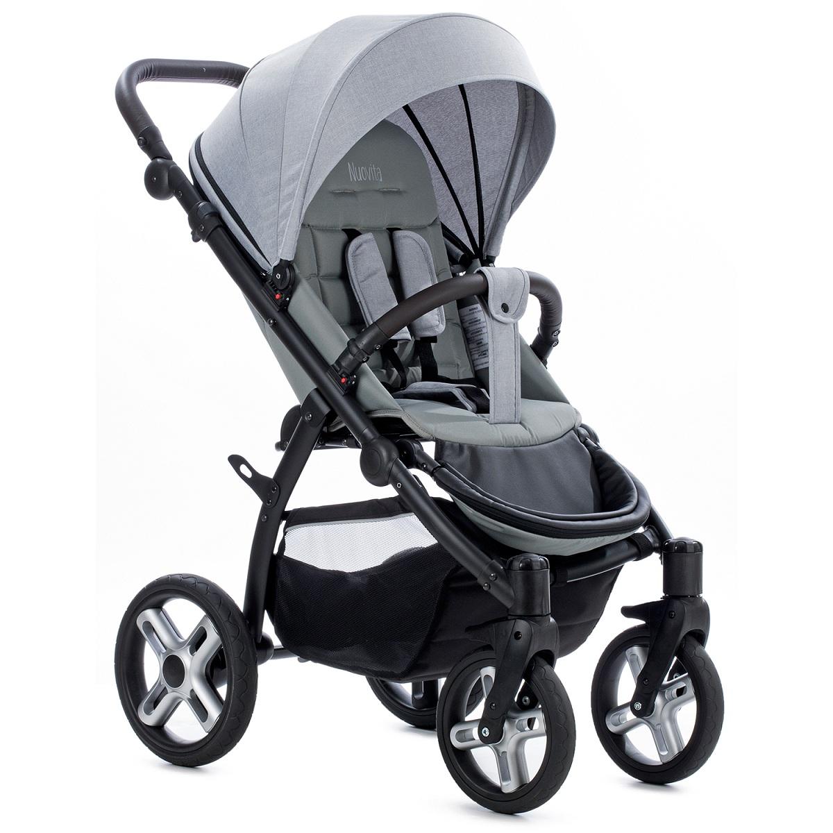 Купить Прогулочная коляска Nuovita Modo Terreno, цвет серый