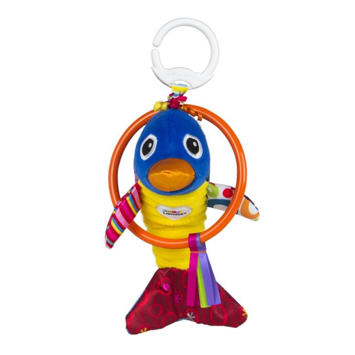 Погремушка – подвеска Весёлый дельфинчикДетские погремушки и подвесные игрушки на кроватку<br>Погремушка – подвеска Весёлый дельфинчик<br>