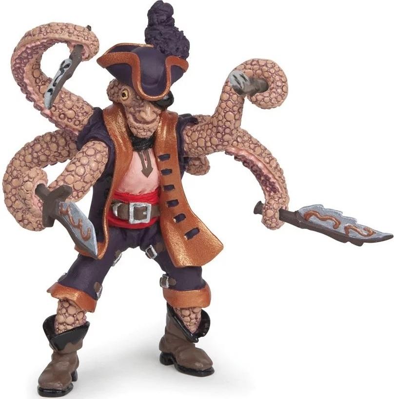 Фигурка пирата мутанта осьминога фото