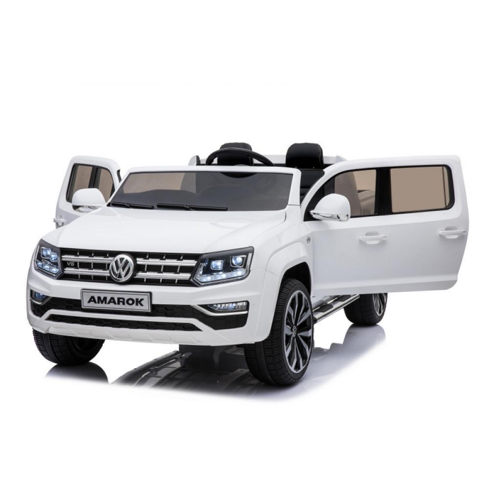 Купить Электромобиль Volkswagen Amarok, белого цвета, ToyLand