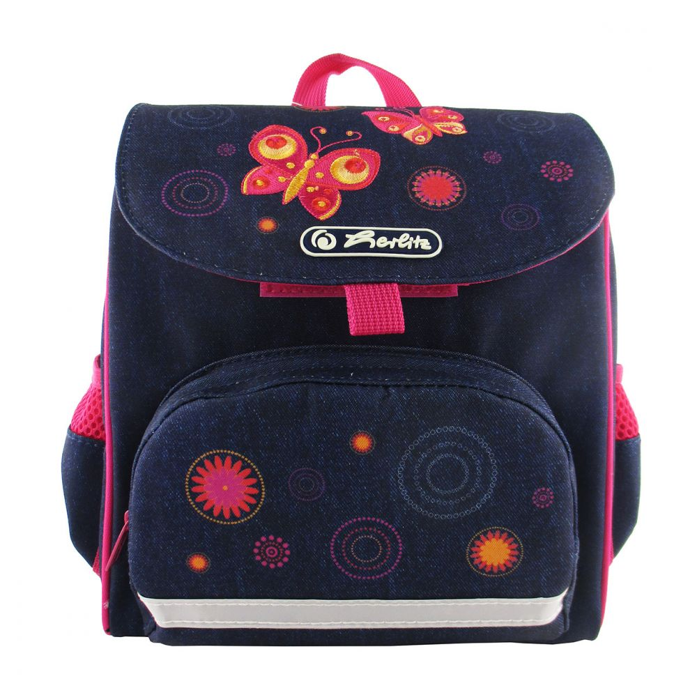 Ранец дошкольный Mini Softbag - Butterfly, без наполненияДетские рюкзаки<br>Ранец дошкольный Mini Softbag - Butterfly, без наполнения<br>