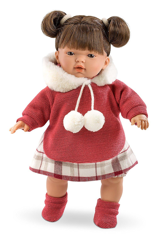 Кукла Татьяна, озвученная, 33 см.Испанские куклы Llorens Juan, S.L.<br>Кукла Татьяна, озвученная, 33 см.<br>
