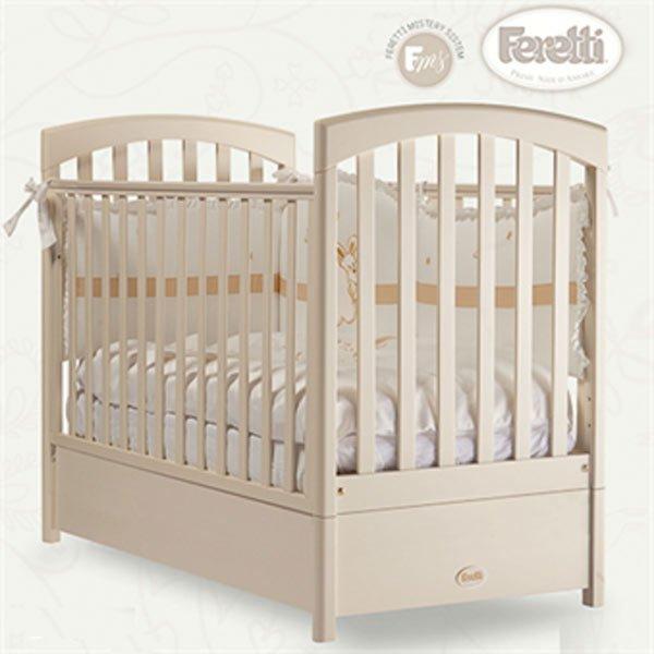 Кровать детская Fms Sauvage AvorioДетские кровати и мягкая мебель<br>Кровать детская Fms Sauvage Avorio<br>
