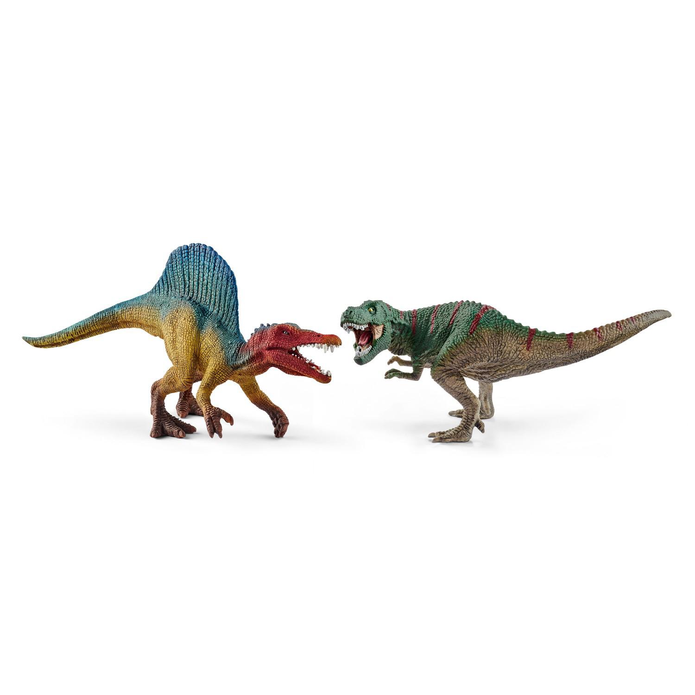 Купить Мини фигурки Спинозавр и Т-рекс, Schleich