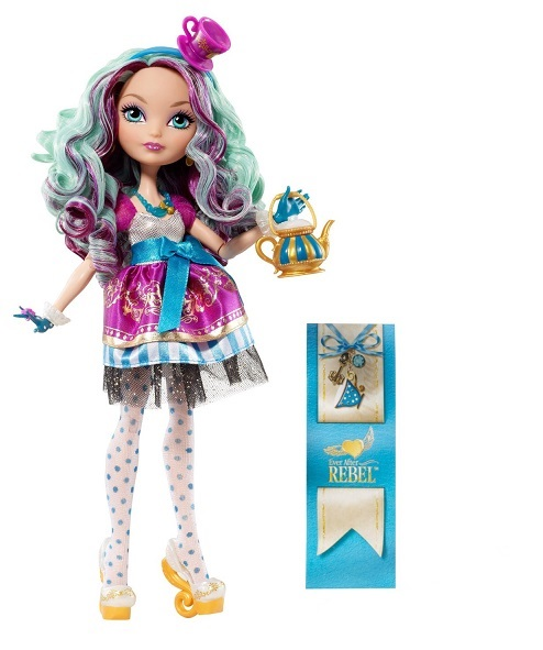 Кукла Ever After High - Мэделин ХеттерКуклы Ever After High и Monster High<br>Кукла Ever After High - Мэделин Хеттер<br>