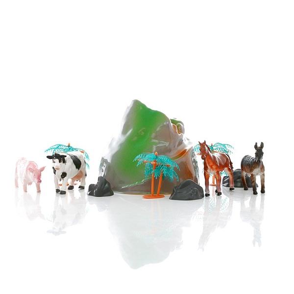 Игровой набор фермерских животныхНа ферме (Farm life)<br>Игровой набор фермерских животных<br>