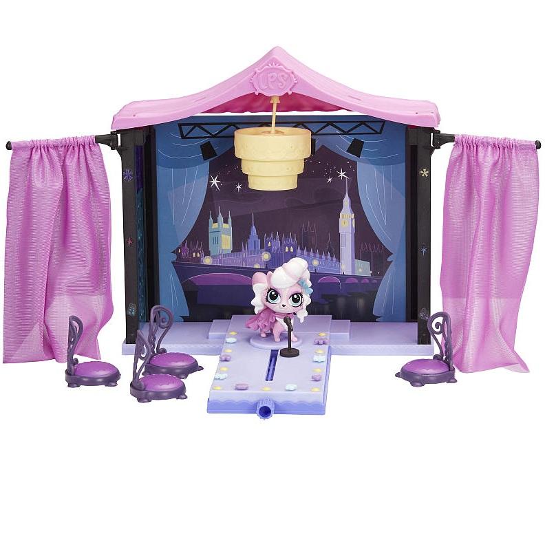 Стильный подиум для показа мод, Pet ShopLittlest Pet Shop – Маленький зоомагазин<br>Стильный подиум для показа мод, Pet Shop<br>