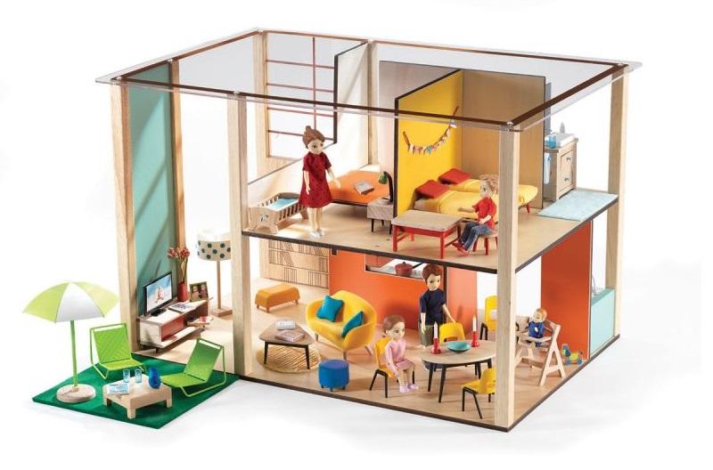 Купить Дом-кубик для кукол, Djeco