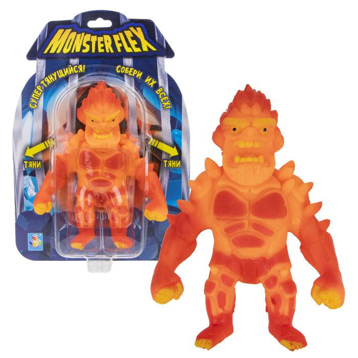 Купить Тянущаяся фигурка из серии Monster Flex Вулкан, блистер, 15 см, 1TOY
