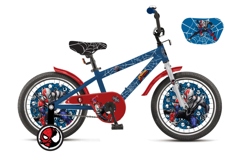 Купить Детский велосипед Marvel - Человек-Паук, колеса 18 дюйм, Navigator